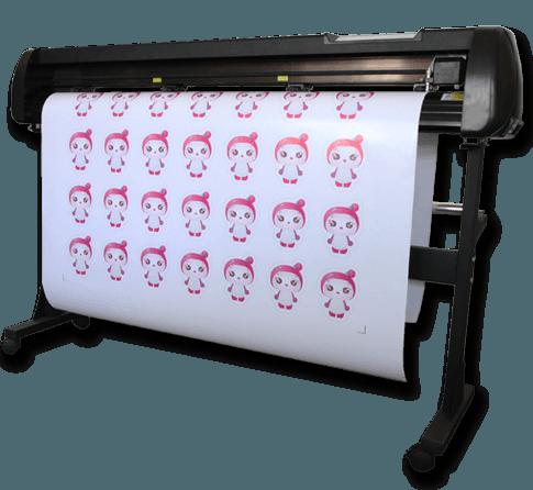 KⅢ款红光定位自动巡边刻字机